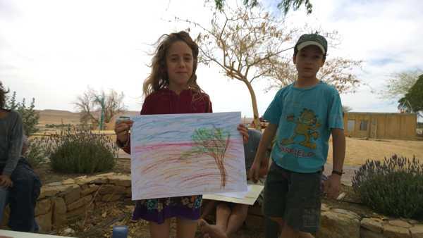 JNF-KKL: Kinder träumen von Bäumen in Israel